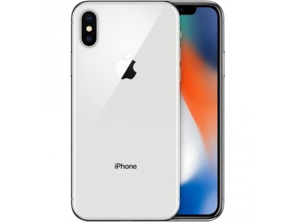 iPhone X-64GB-Silver Used