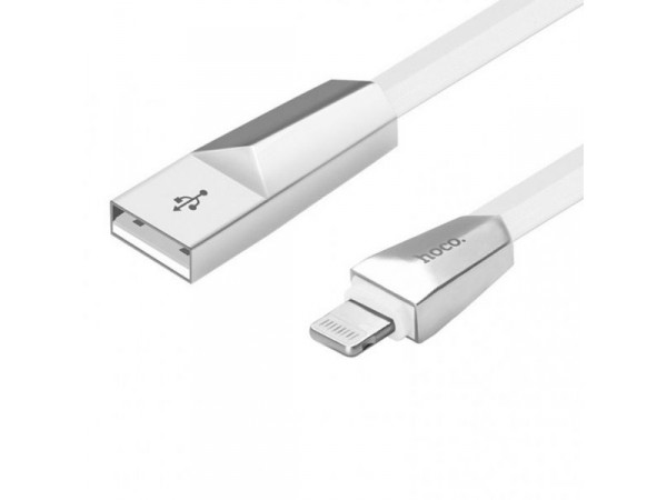 hoco fast charger cable for Apple-White