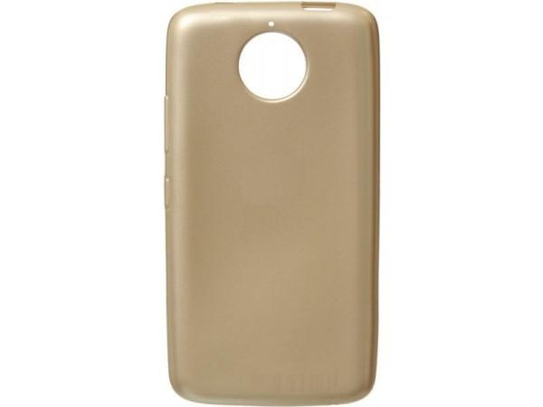 Motorola Moto E4 Plus TPU Cover - Gold