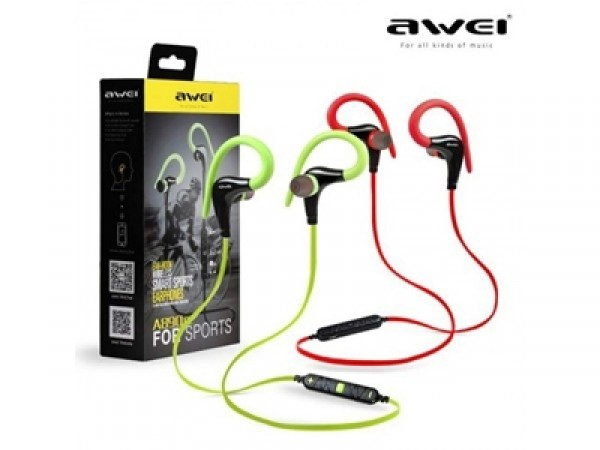 Awei A890BL Wireless Sports Stereo Earphone - Black