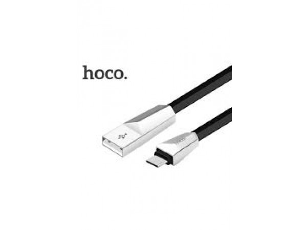 HOCO X4 Micro USB Data Charging Cable-Black