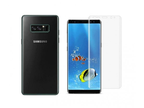 Tpu Screen Protector For Galaxy Note8 Transparent