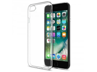 Apple iPhone 8 Case Cover Bumper Anti-Scratch Clear Back (HD Clear)