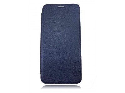 Huawei Mate 10 Lite Flip Cover Case Navy Blue