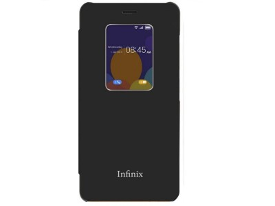 S View For Infinix Note 4 X572 Black