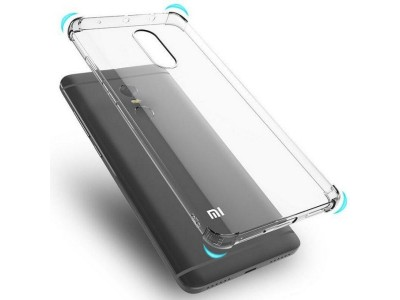Xiaomi Redmi Note 4 & Note 4x anti shock  TPU Cover - Clear