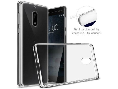 Back Cover For Nokia 6 - Transparent