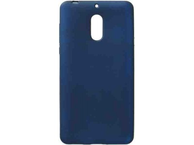 Blue Back TPU Cover For Nokia 6