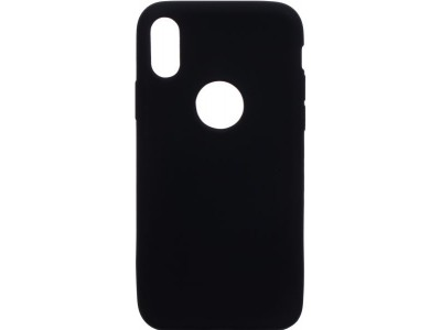 Back Cover For Apple Iphone X - Black