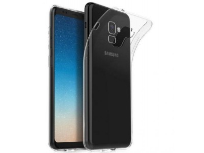 Back Cover For Samsung Galaxy A8 Plus (2018) - Clear
