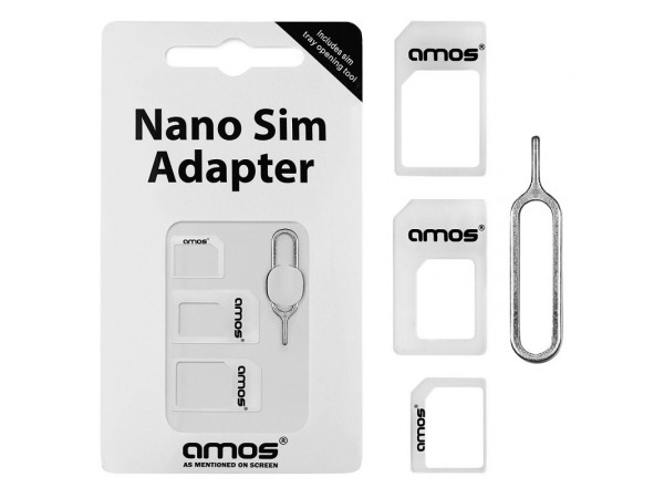 NOOSY 3 X Nano SIM to Micro/Standard Card