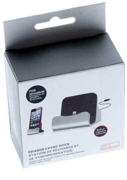 charge + sync dock for iphone